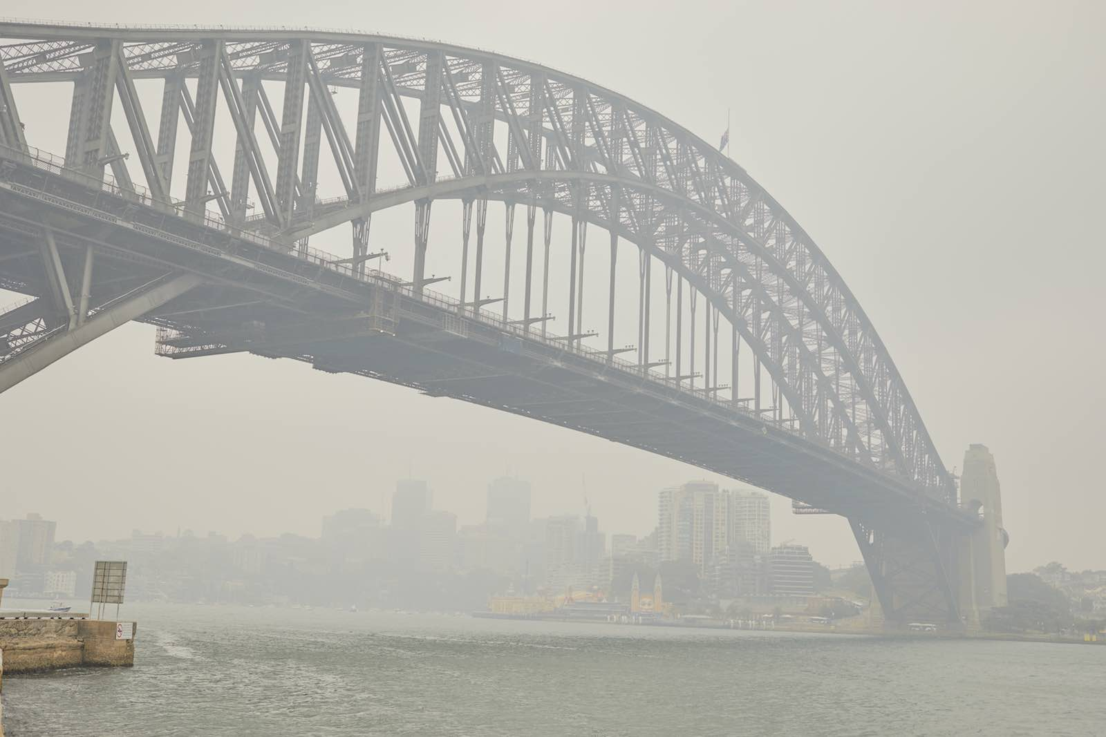 The Big Smoke: Sydney in December 2019 (Getty Images)
