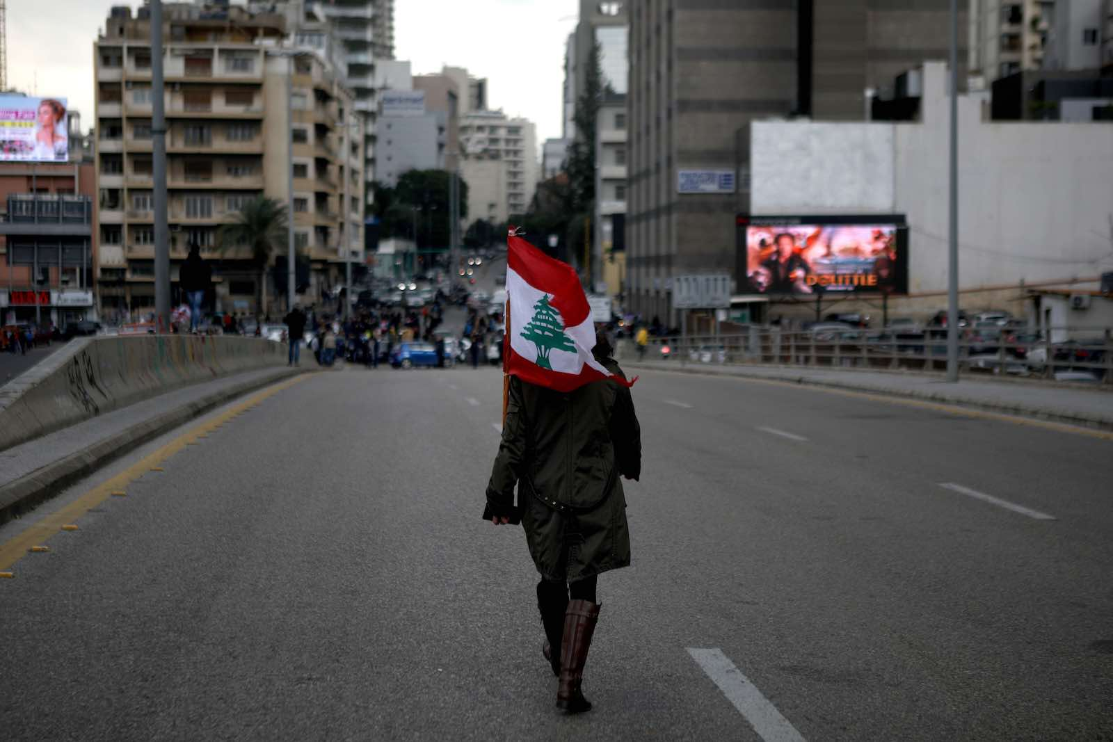 Protests in Lebanon continue against a political elite accused of corruption and incompetence (Patrick Baz/AFP/Getty Images)