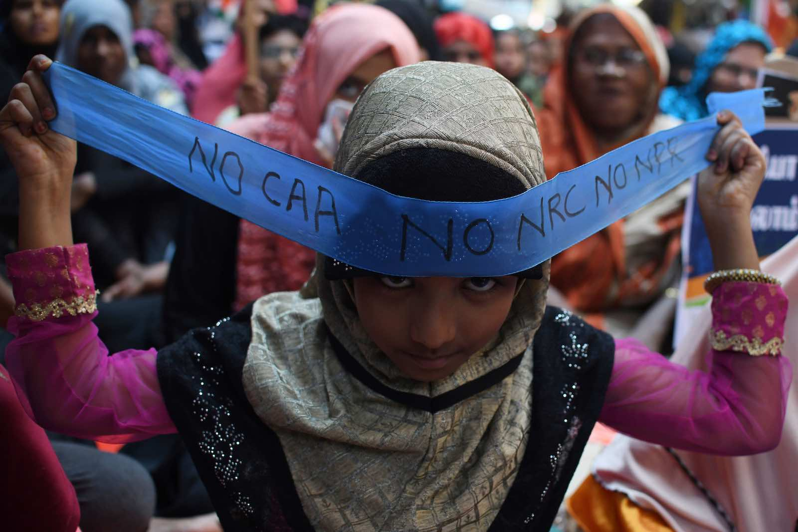 Recent demonstrations have displayed a spirit of collective resistance not witnessed since India's freedom struggle in the 1940s (Arun Sankar/AFP/Getty Images)