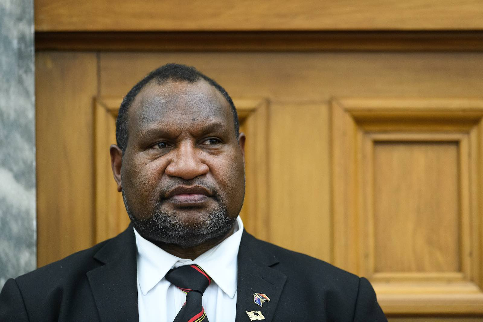 The parliamentary moves against PNG Prime Minister James Marape were bold and bruising (Mark Tantrum/Getty Images)