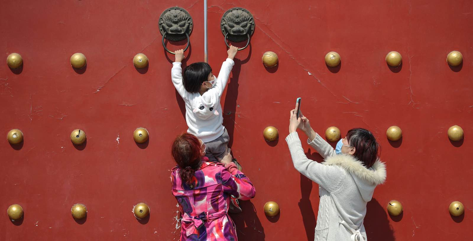 Asia was already experiencing the increasingly dominant force of geopolitical competition between the great powers – and that competition will continue (STR/AFP via Getty Images)