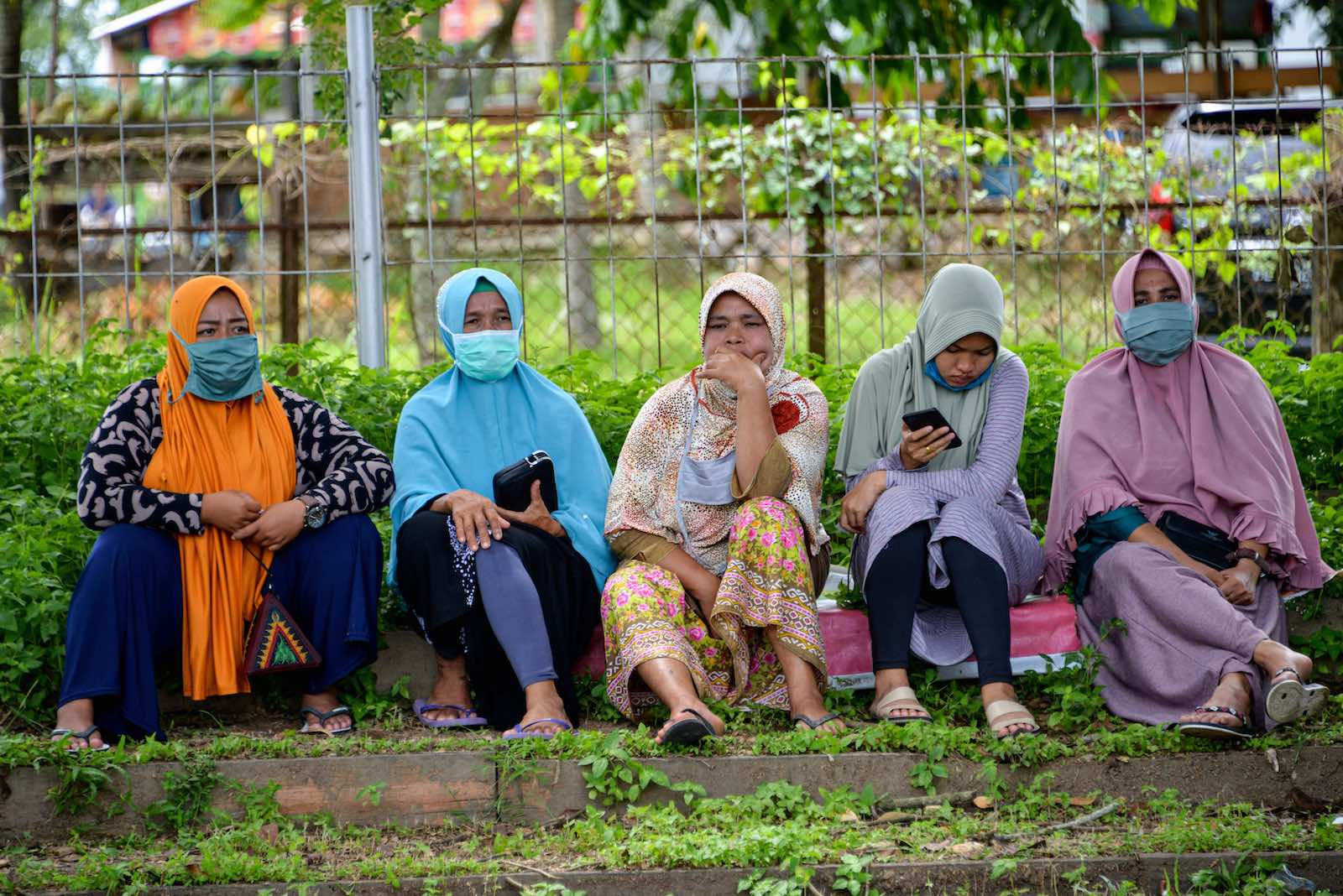 Social media is a popular platform for people to express their discontent about the government handling of the crisis (Chaideer Mahyuddin/AFP via Getty Images)