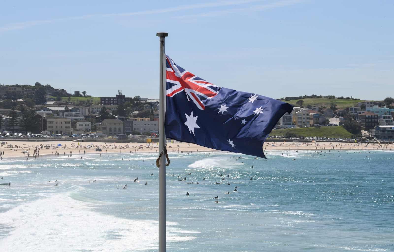 Bondi Beach in Sydney (James D. Morgan/Getty Images)