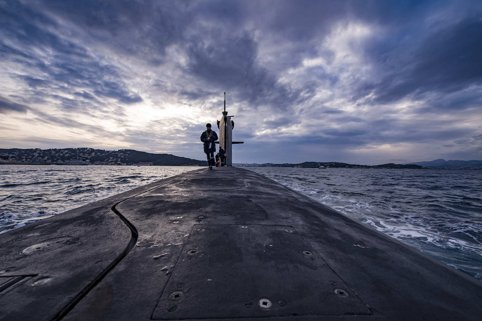 An advantage in survivability for a nuclear-powered submarine would not necessarily outweigh the advantage in numbers for a conventionally powered boat (Alexis Rosenfeld/Getty Images)