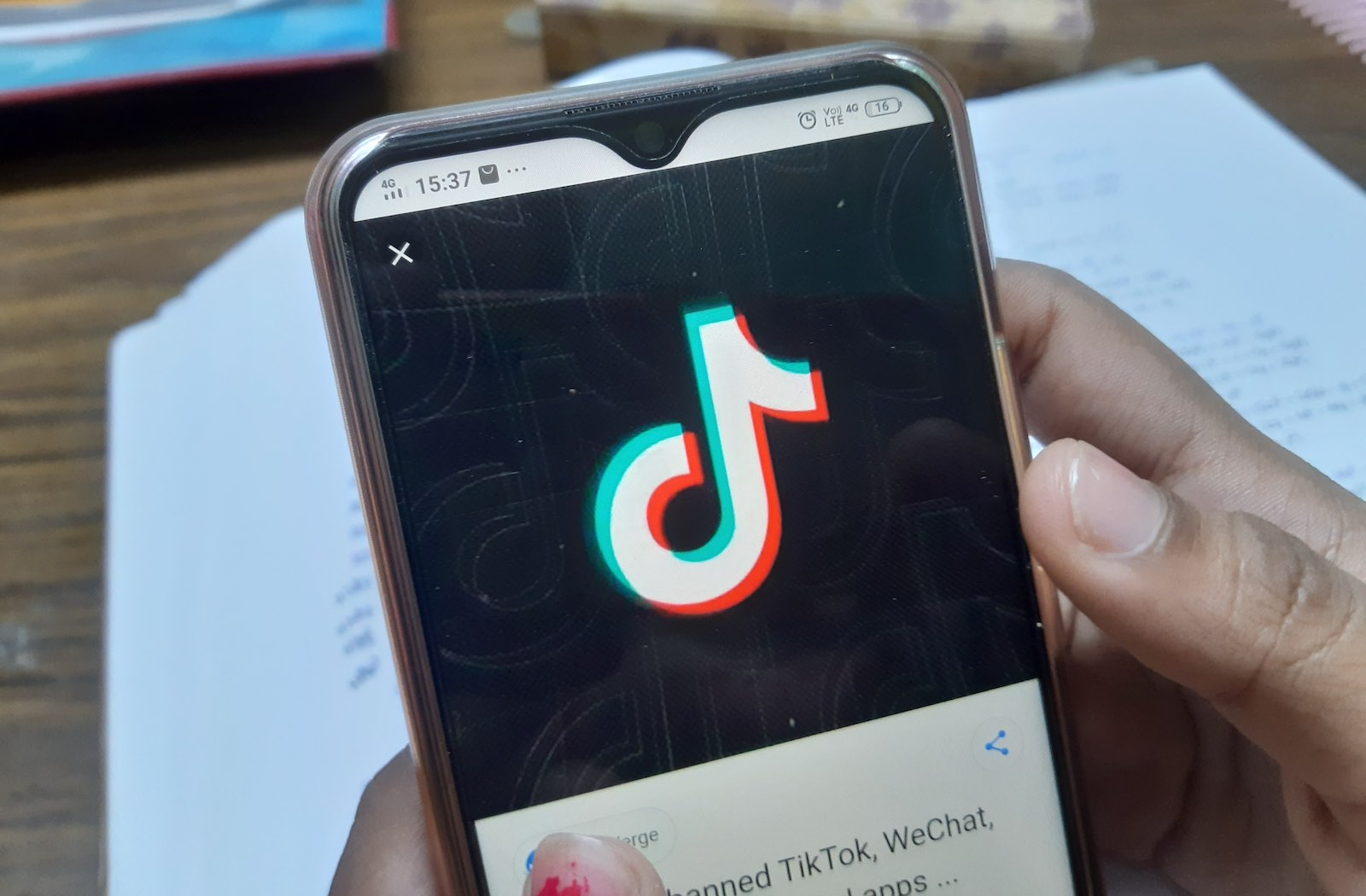 TikTok is one of 59 Chinese apps banned by India on 29 June 2020 (Debajyoti Chakraborty/NurPhoto via Getty Images)