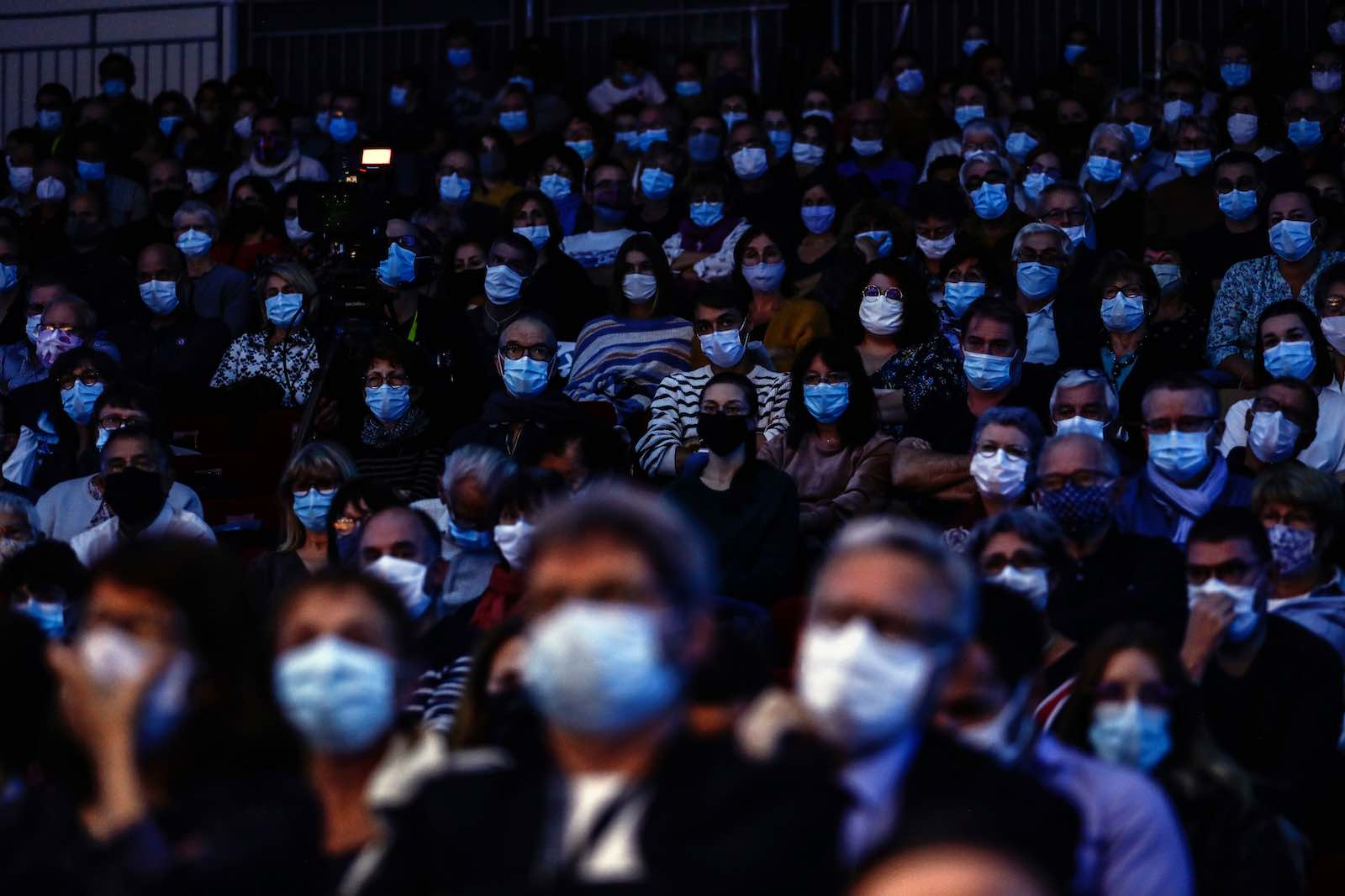Crowds unimagined before 2020 (Sameer Al-Doumy/AFP via Getty Images)
