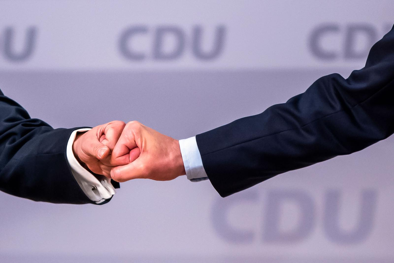 A new leader of the Christian Democratic Union was elected at the party's congress in January (Odd Andersen/AFP via Getty Images)
