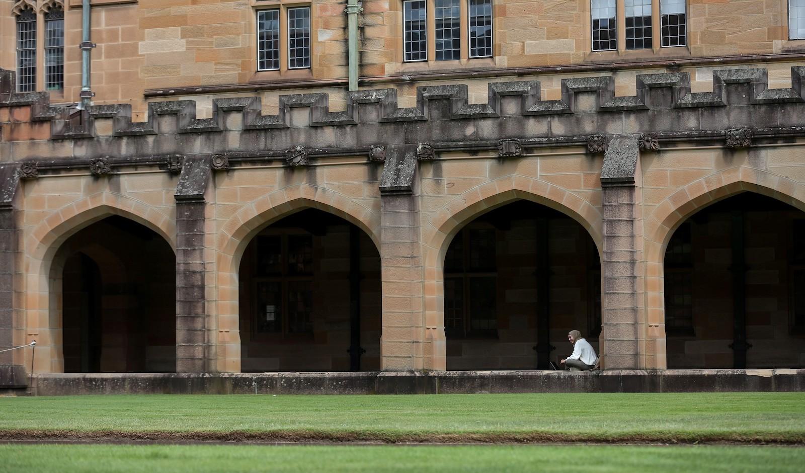 University of Sydney, New South Wales, Australia (Bai Xuefei/Xinhua via Getty)