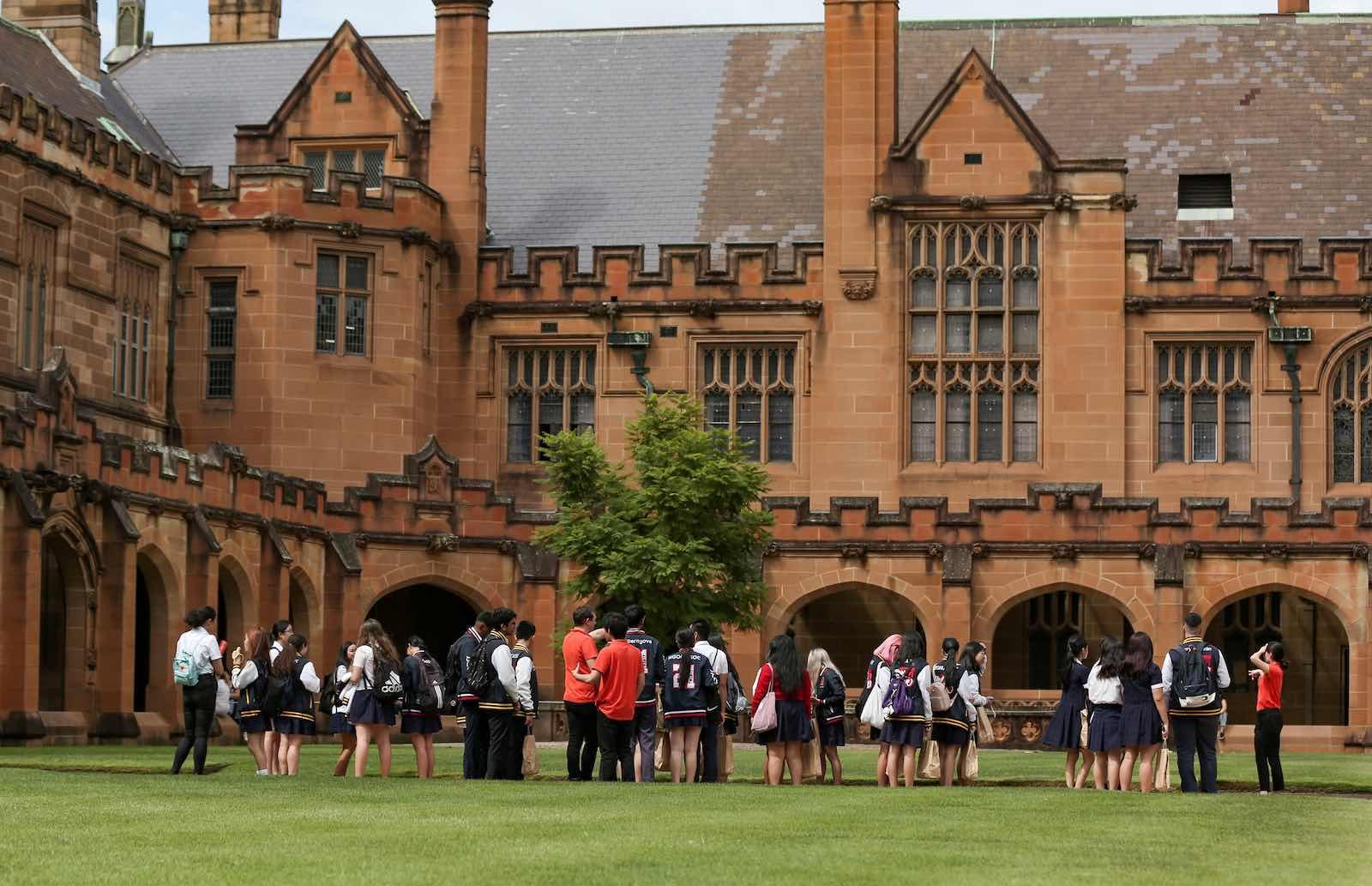 University of Sydney (Xinhua News Agency via Getty Images)