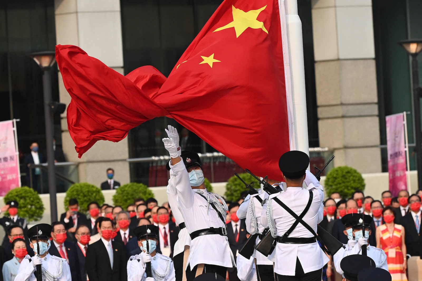 No one is hoping to convert China to Australia's system of economics – or democracy (Peter Parks/AFP via Getty Images)