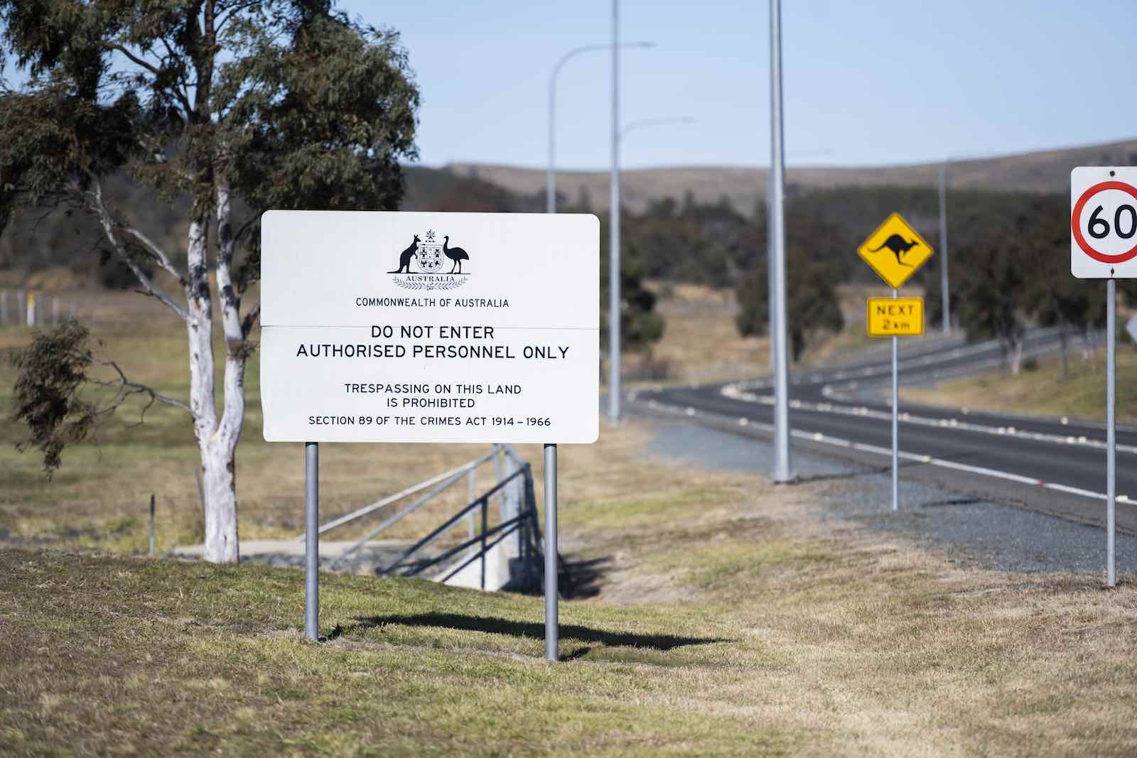 The Headquarters Joint Operation Command, the command centre for Australia's defence force operations around the world, in Bungendore, Australia (Rohan Thomson/Getty Images)