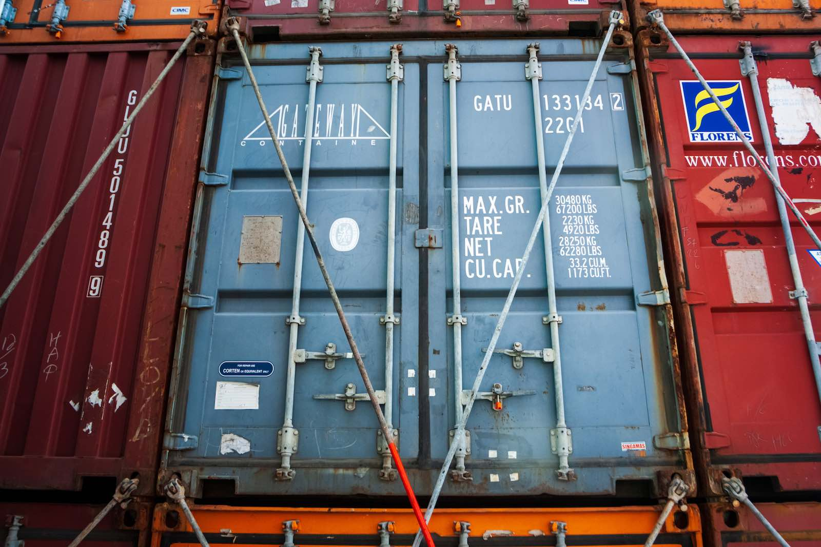 Shipping containers are in dwindling supply (Camille Delbos/Art In All of Us/Corbis via Getty Images)
