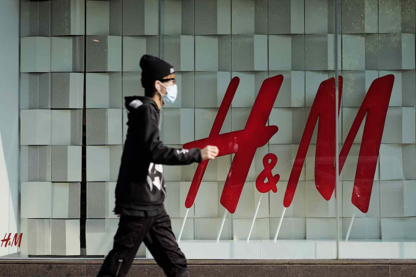 A H&M store in Kunming, China (Kang Ping/China News Service via Getty Images)