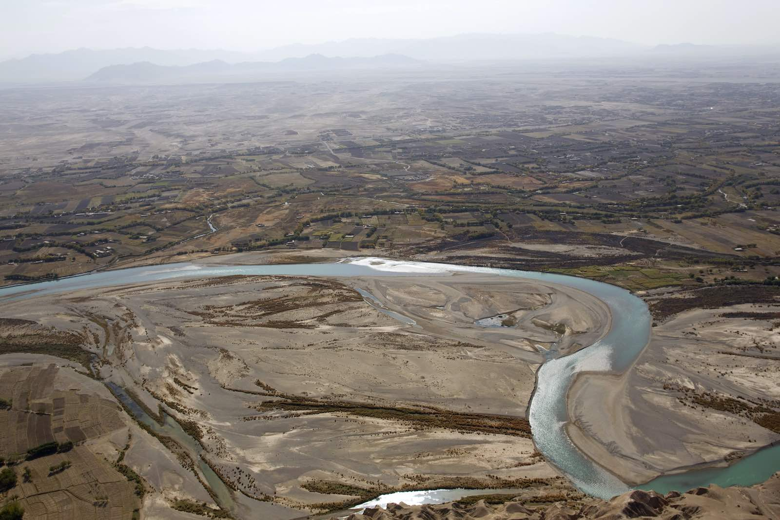 The Helmand River in Afghanistan (Behrouz Mehri/AFP via Getty Images)