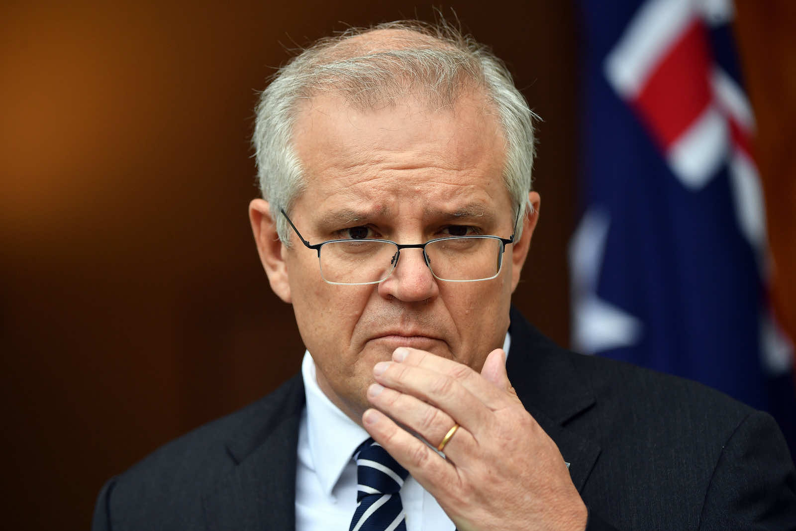 Scott Morrison should urge Joe Biden to spend as much time as possible on deepening ties with smaller countries in the region (Sam Mooy/Getty Images)