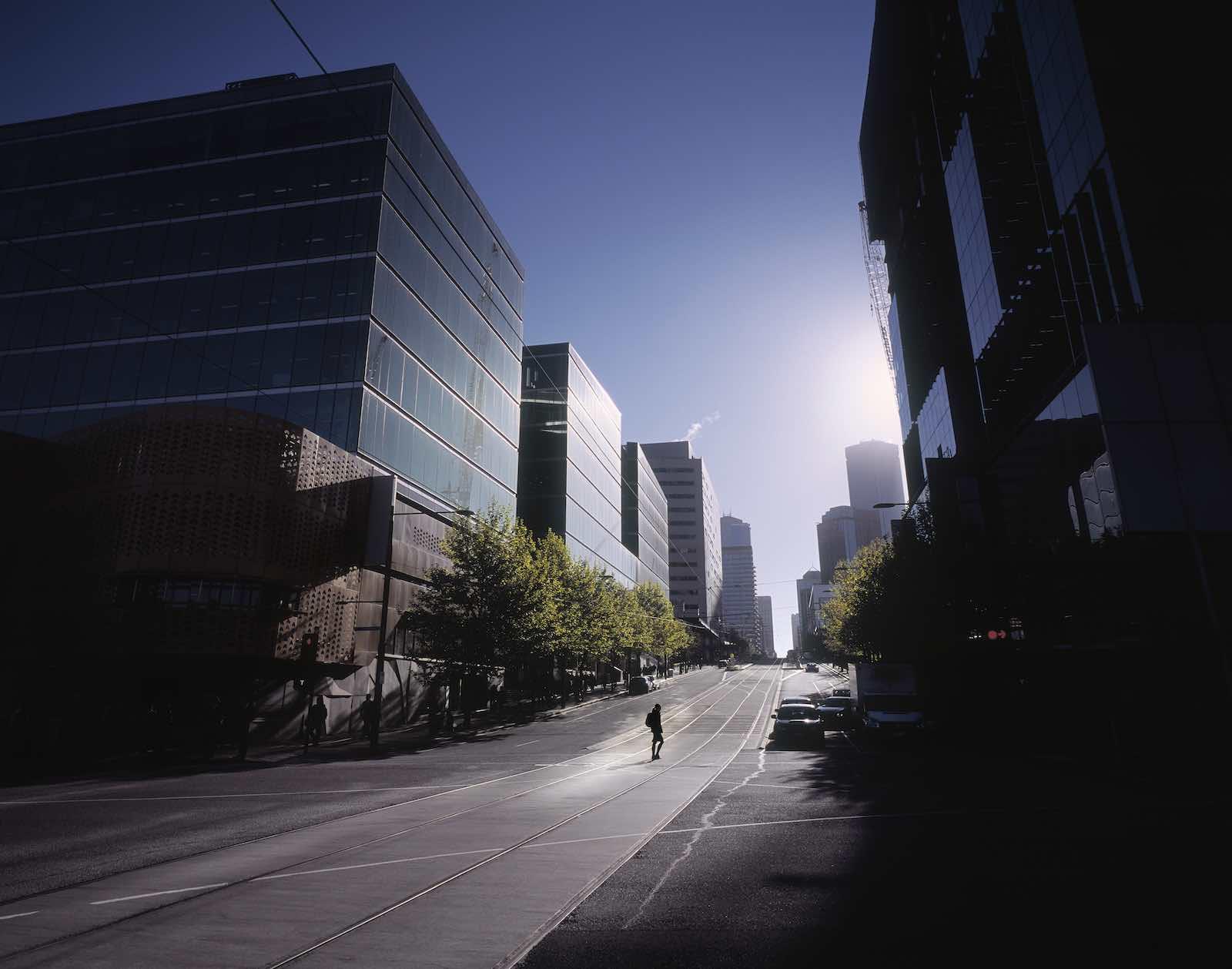Melbourne CBD (Getty Images)