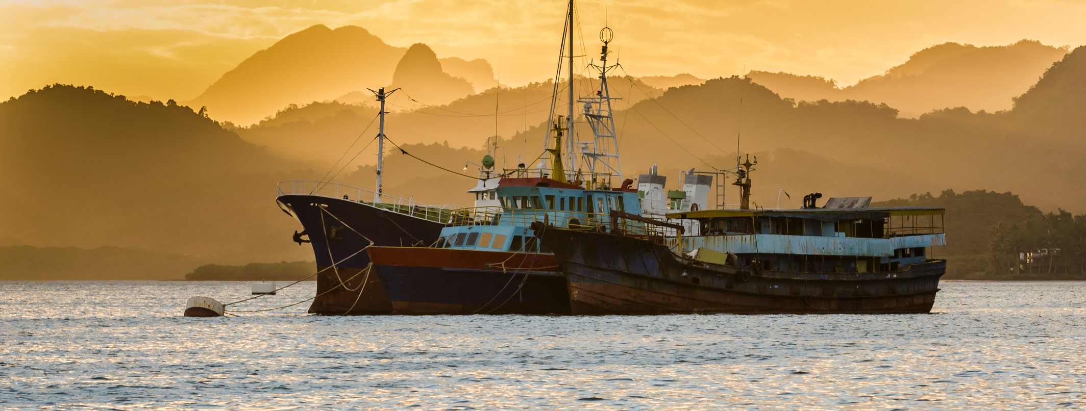 Fishing boats outside Suva (Photo: Pete Atkinson/Getty Images)