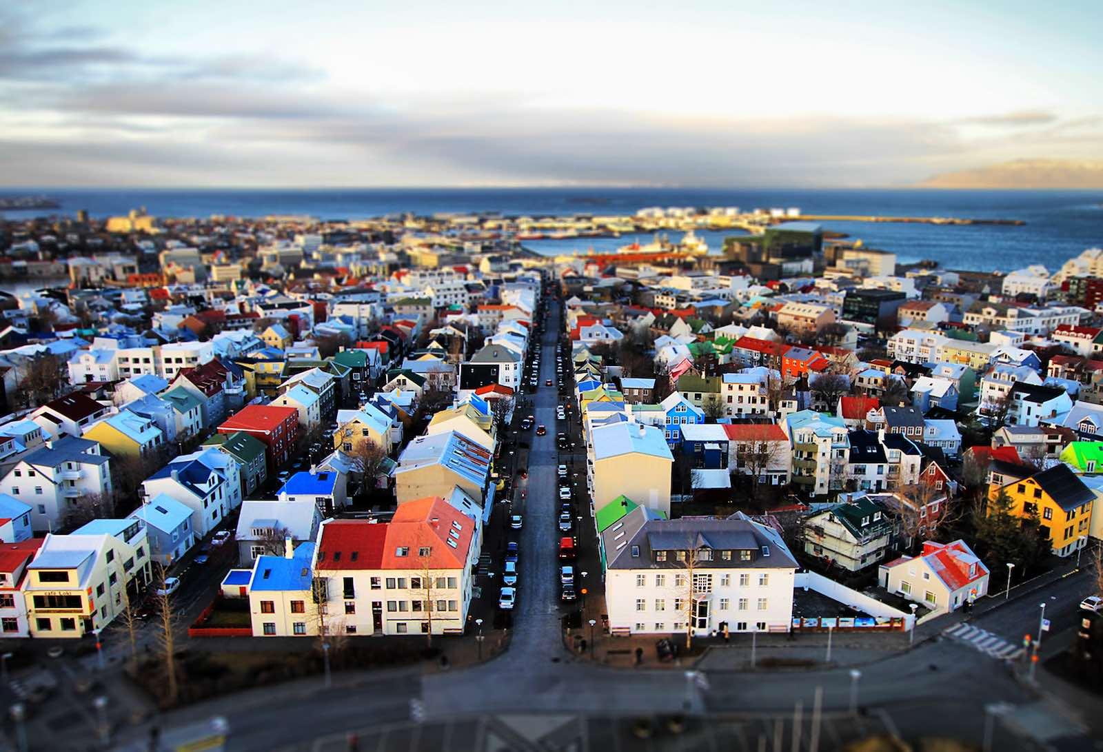 Reykjavik, Iceland (L. Toshio Kishiyama/Getty Images)