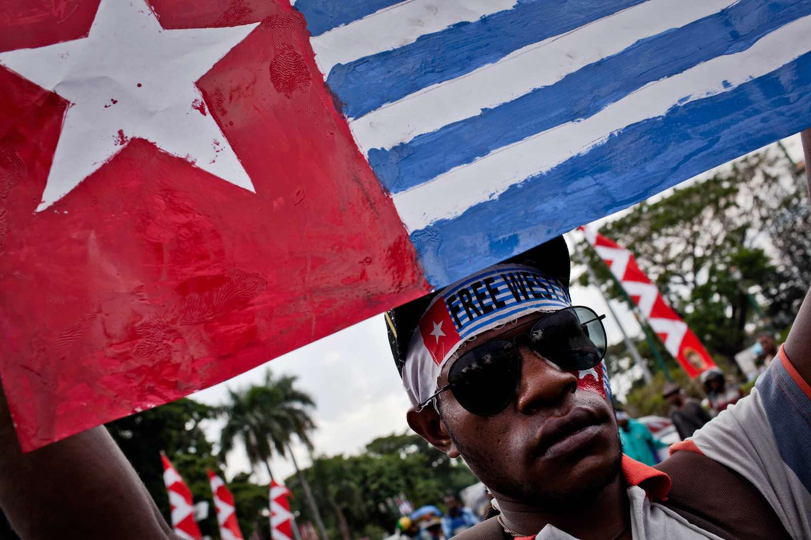 Pacific Island Forum members are increasingly frustrated its attempts so far to engage with Indonesia over West Papua have come to little (Photo: Ulet Ifansasti/Getty)
