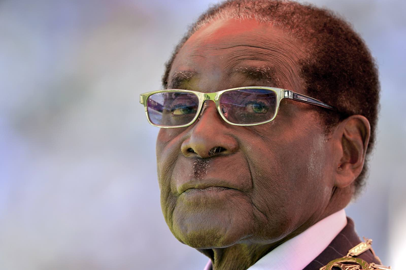 Robert Mugabe in 2013, having secured eight consecutive terms in power (Photo: Alexander Joe/AFP/Getty)