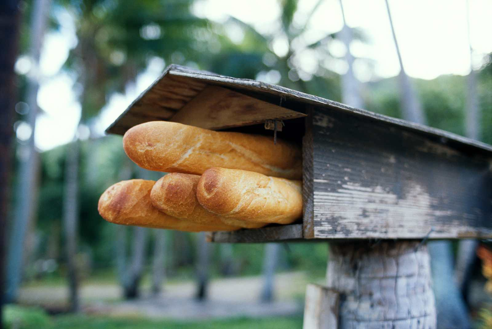 Tahitian lunch delivered by mailbox (Photo: Getty Images)