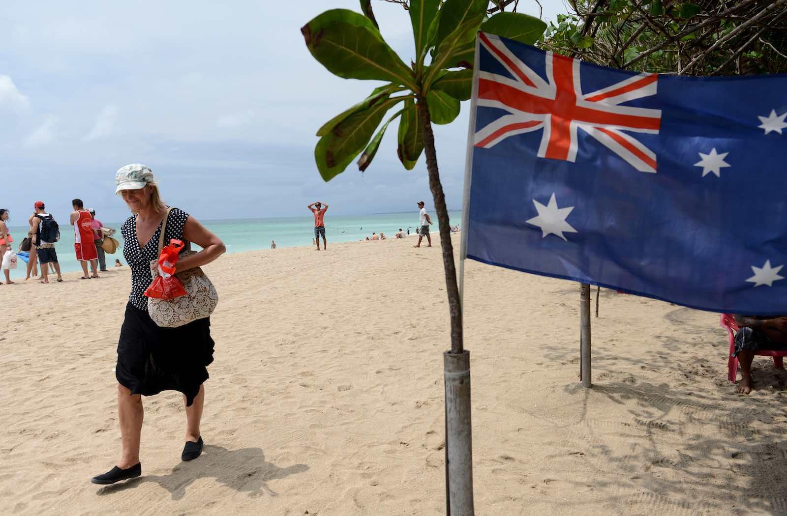 The soft sands of Kuta beach (Photo: Sonny Tumbelaka/AFP/Getty Images)