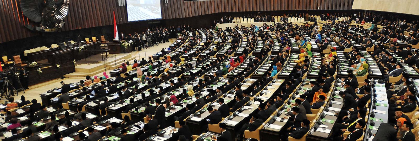 Indonesian Parliament, Jakarta (Photo: Jefri Tarigan via Getty)
