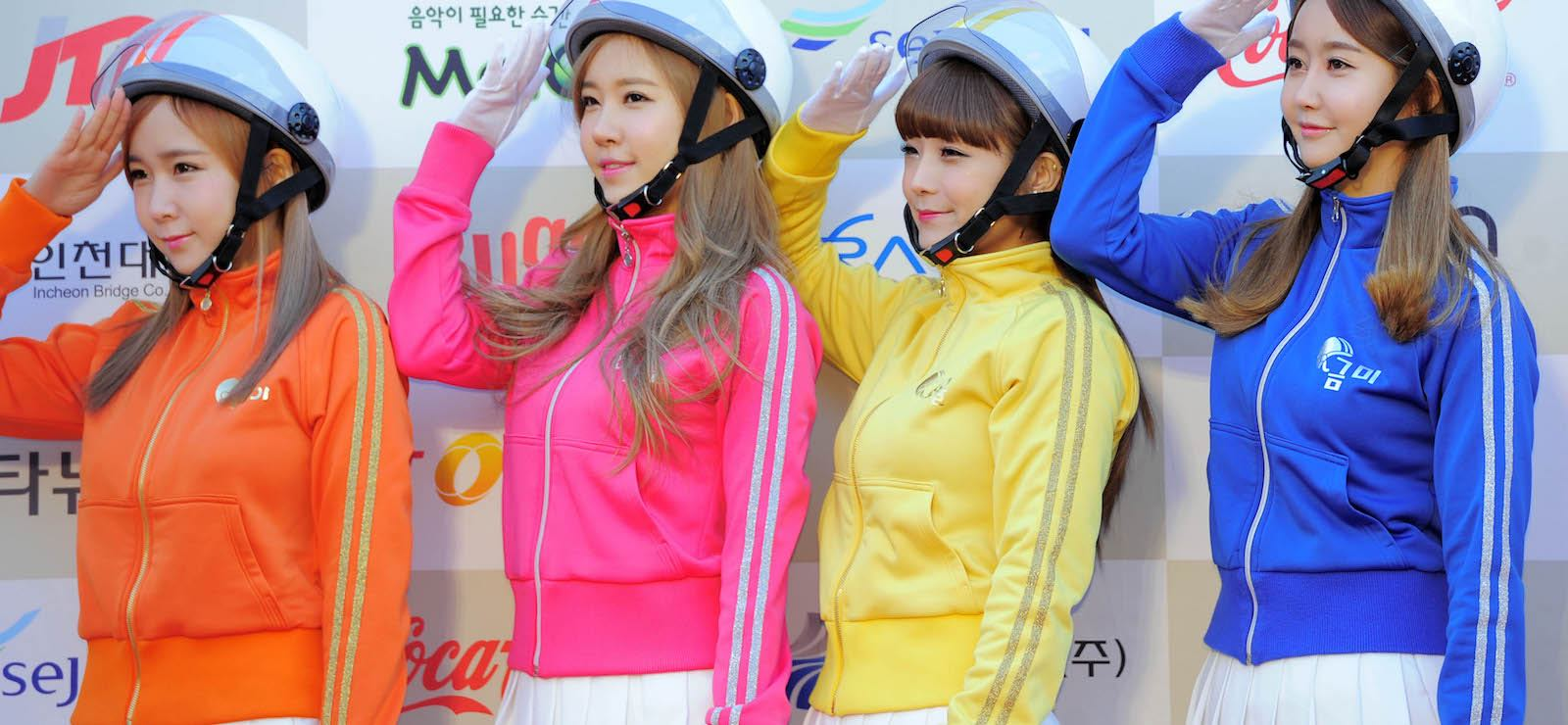 South Korea's Crayon Pop (Photo: Chosunilbo JNS via Getty)
