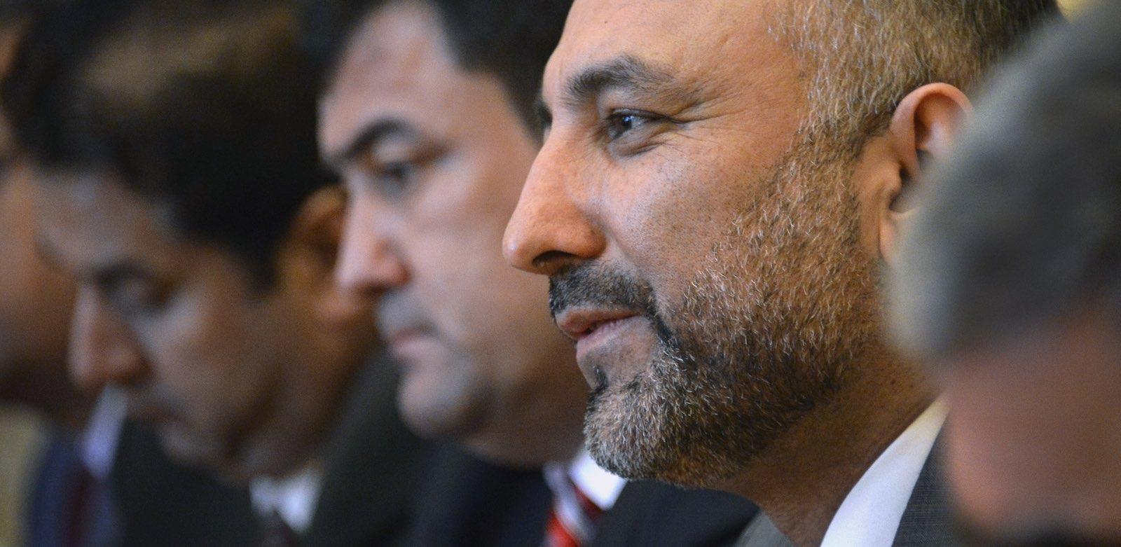 Hanif Atmar, former Afghan National Security Advisor, will run for president (Photo: Alexander Nemenov via Getty)