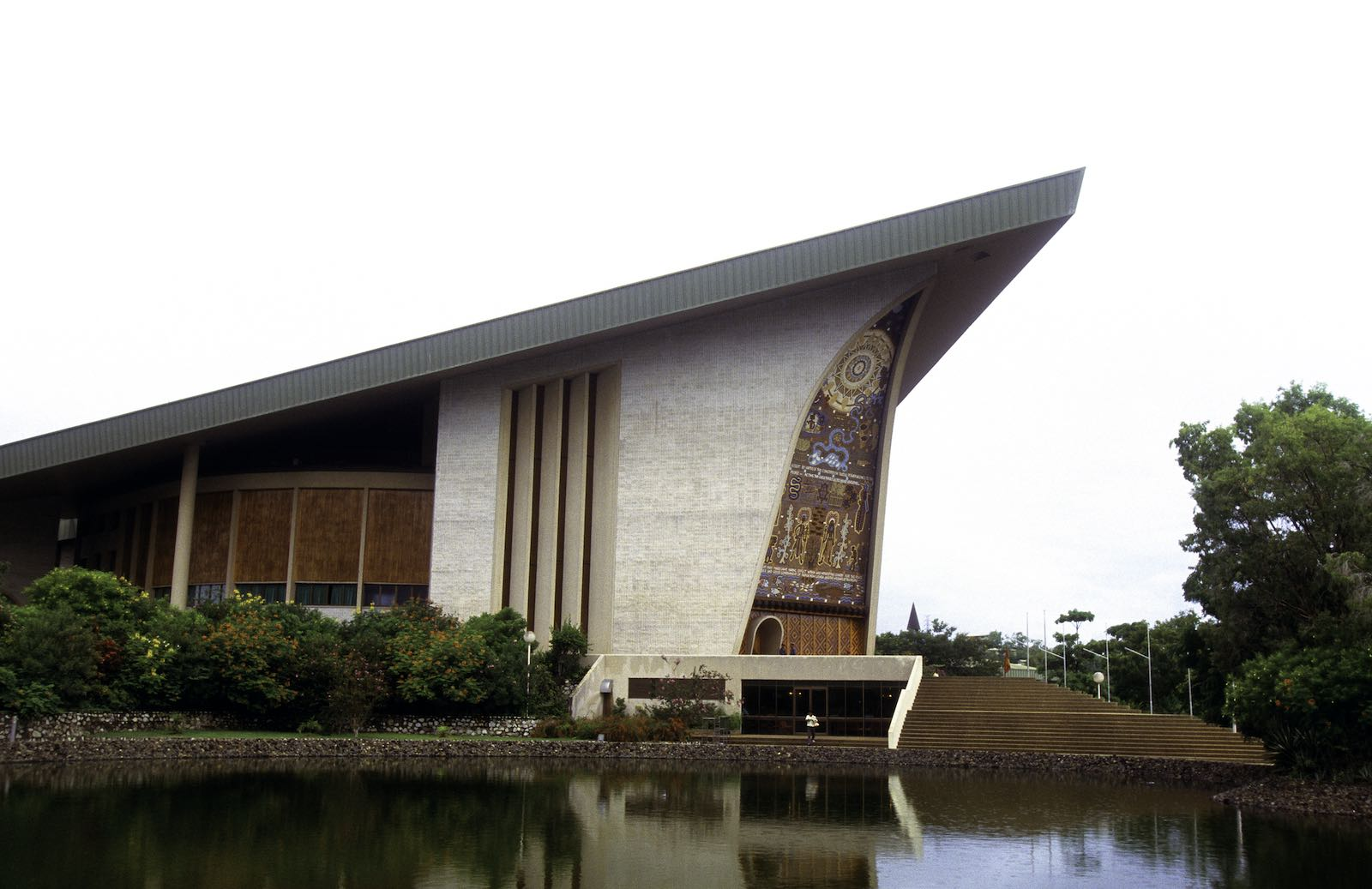 Papua New Guinea House of Parliament, Port Moresby (Getty Images)