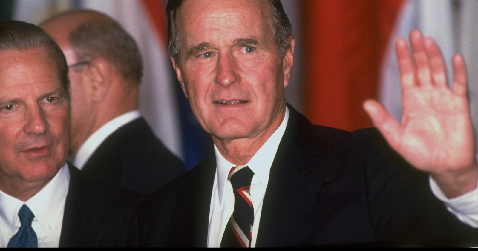 George H. W. Bush, 1989 (Photo: Diana Walker via Getty)