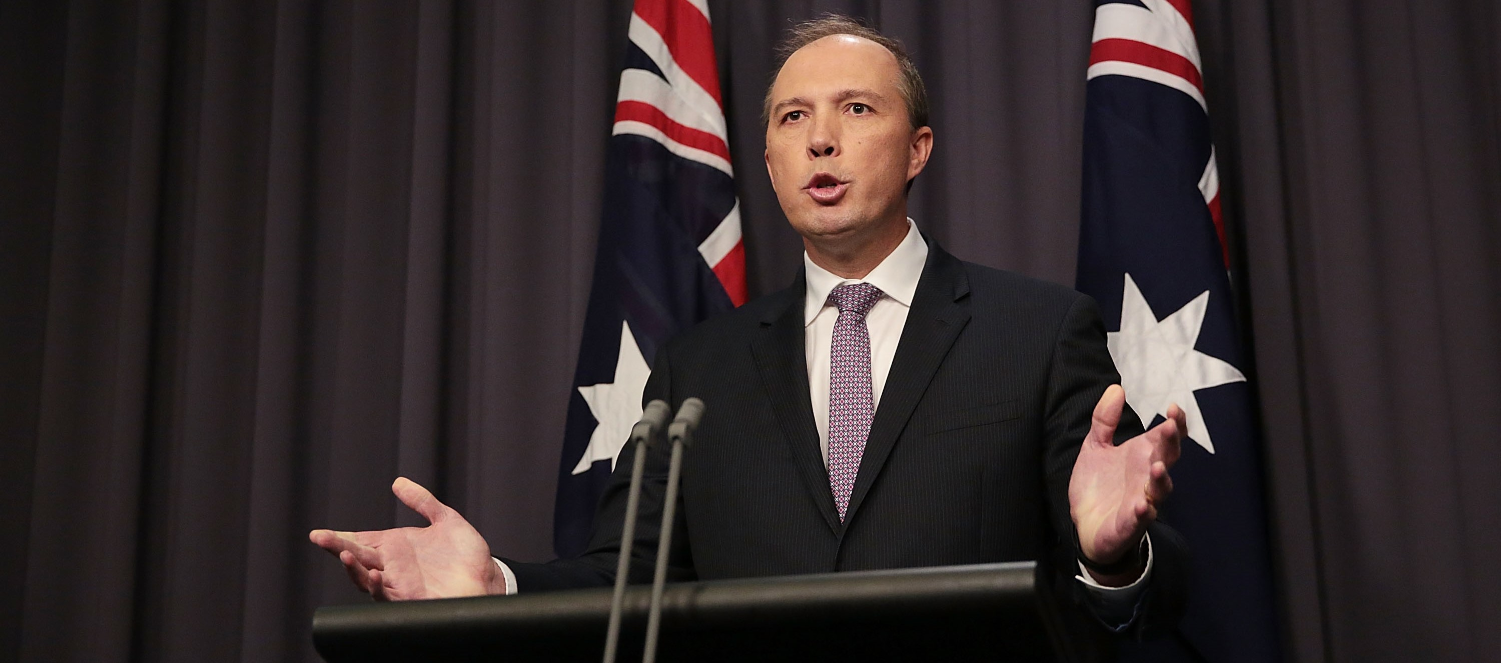 Immigration Minister Petter Dutton, May 2016 (Photo: Getty Images/Stefan Postles)
