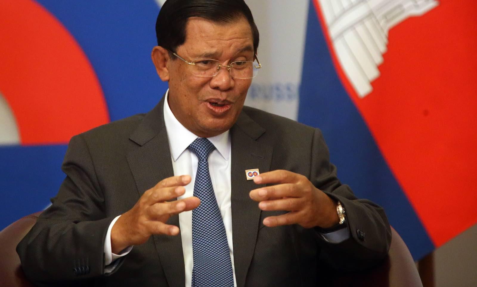 Cambodian Prime Minister Hun Sen (Photo: Mikhail Svetlov/Getty)