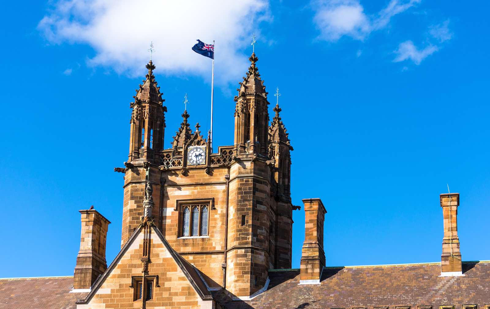 The flag flies over Sydney Uni (Photo: Katharina13/Getty Images)