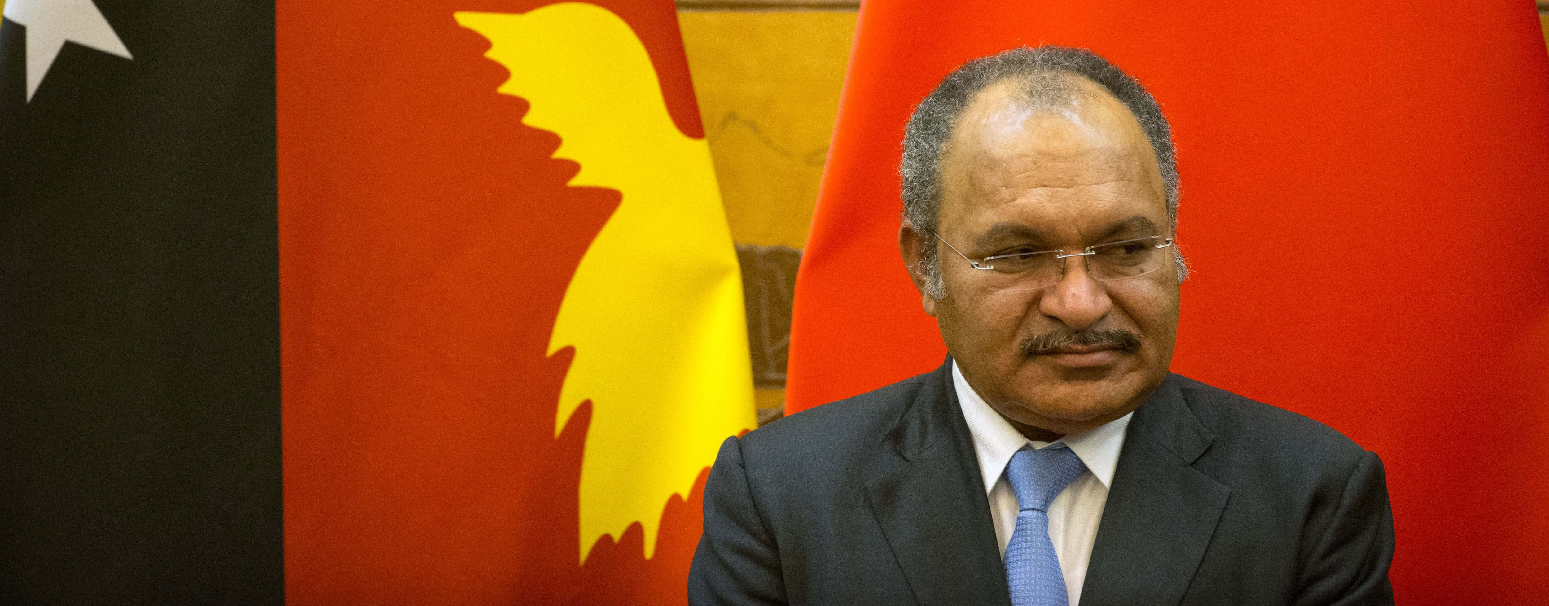 Papua New Guinea's Prime Minister Peter O'Neill (Photo: Mark Schiefelbein/Getty)