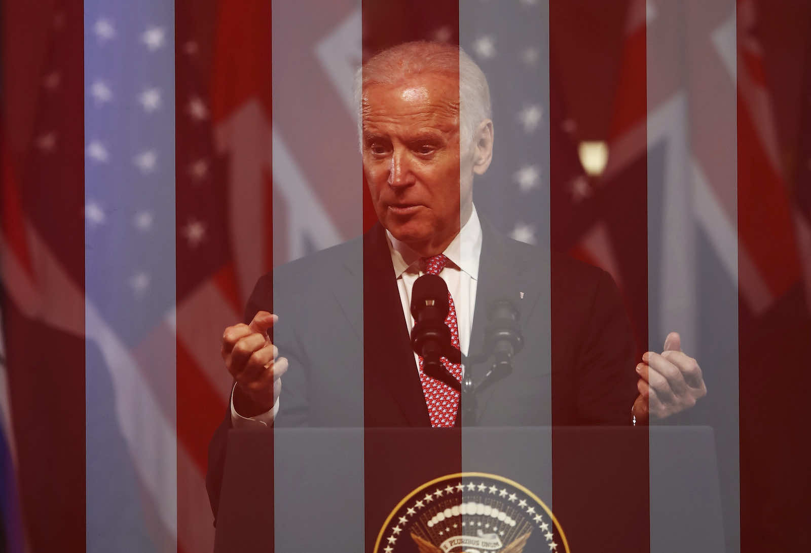 Joe Biden, during a 2016 visit to Australia as Vice President (Ryan Pierse/Getty Images)