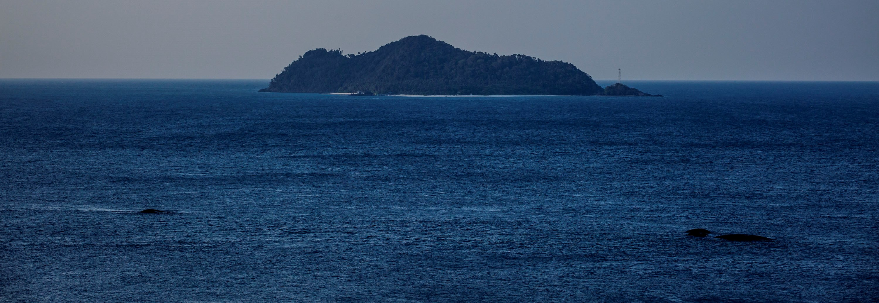 An outer island of the Natuna Islands, August 2016 (Photo: Getty Images/Ulet Ifansasti)