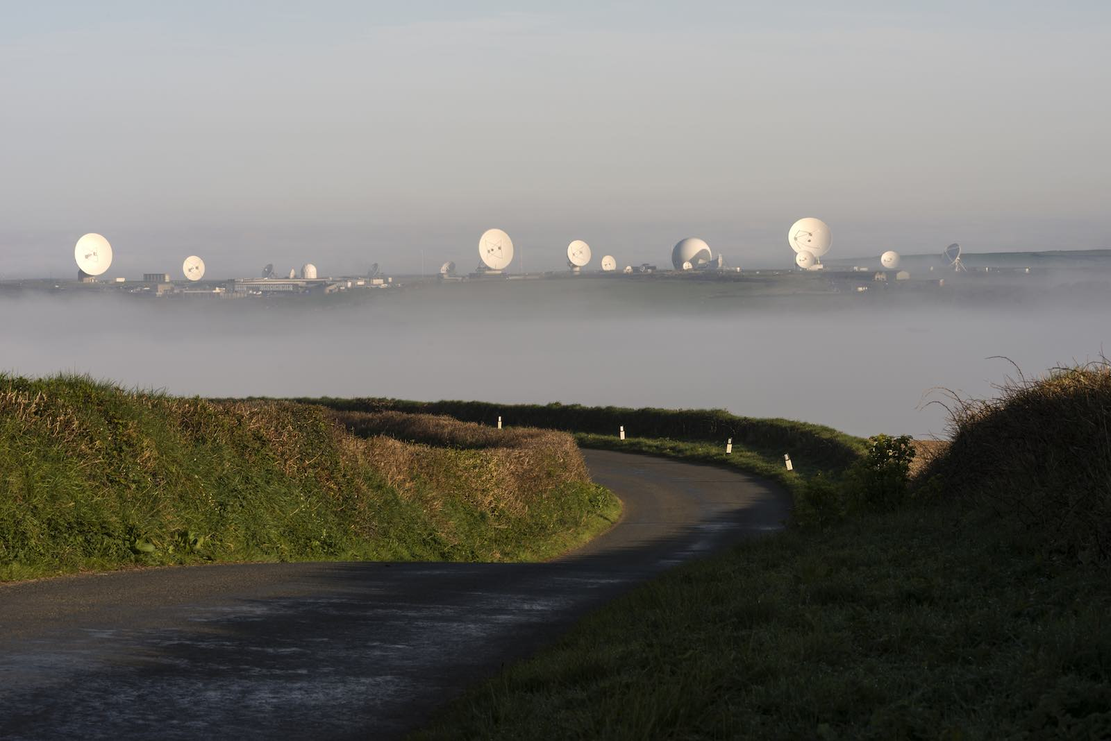 GCHQ Bude listening station, on England's Cornwall coast (Photo: Richie Johns via Getty)