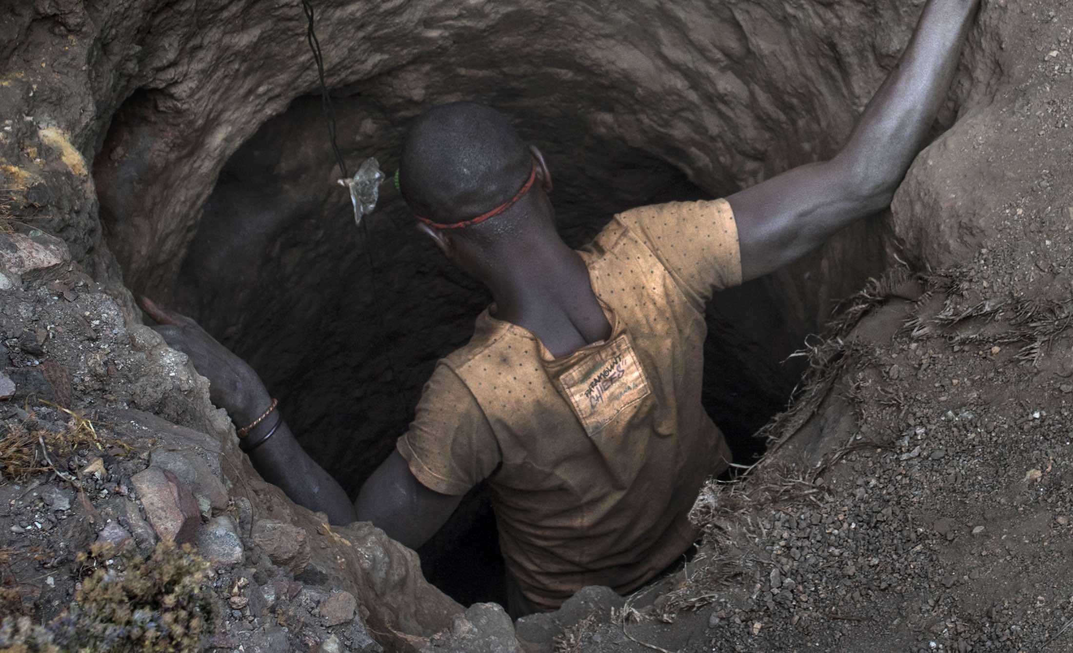 A copper and cobalt mine in Kawama, Democratic Republic of Congo (Photo: Michael Robinson Chavez/Getty)