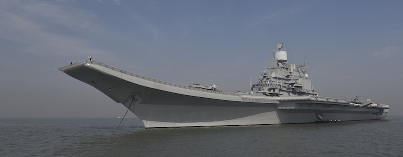 Missing in action: India's aircraft carriers