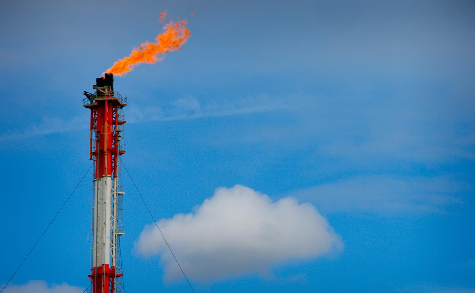 Queensland's Curtis Liquefied Natural Gas project site (Photo: Patrick Hamilton via Getty)
