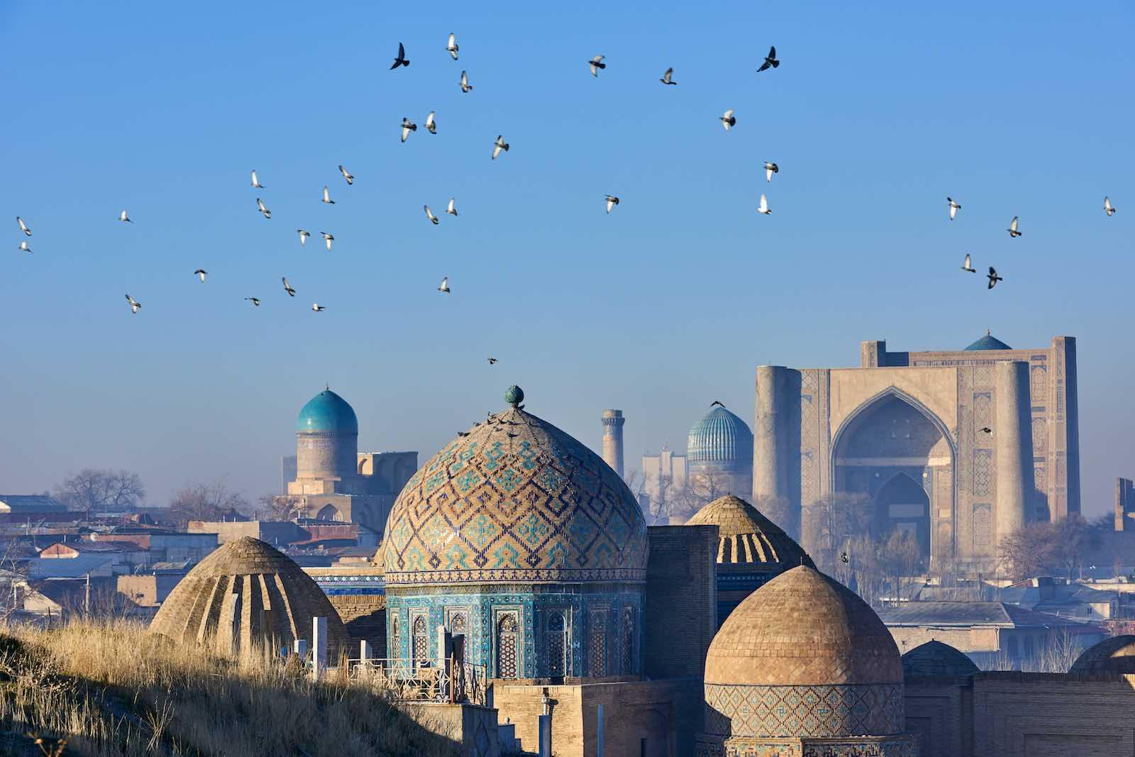 Shah-i-Zinda necropolis in Samarkand, Uzbekistan (Getty Images)