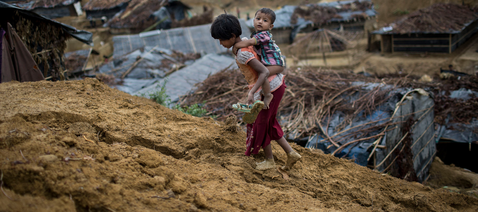 Rohingya Refugees in Bangladesh. Photo by Probal Rashid/LightRocket via Getty Images.