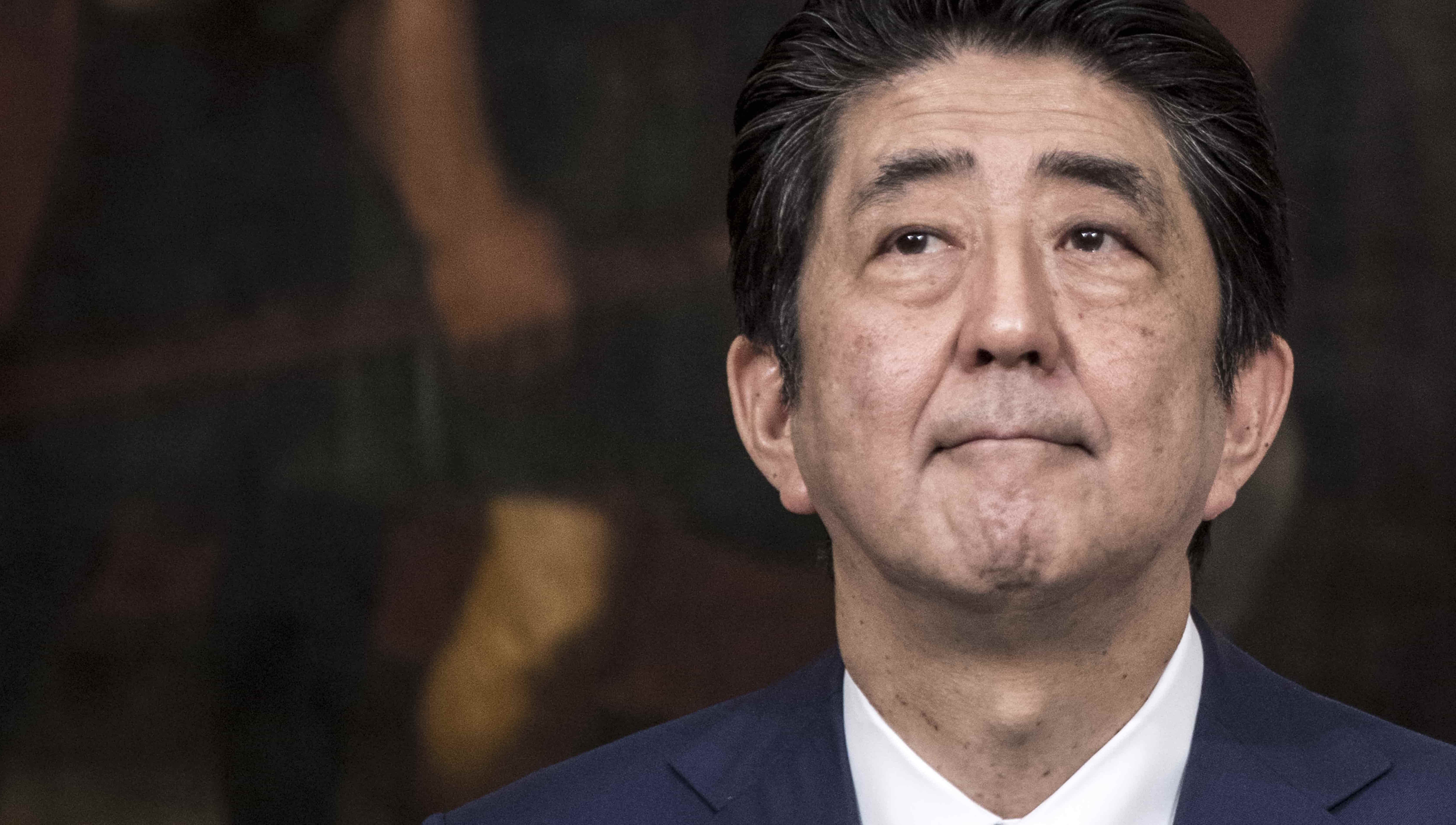Japanese Prime Minister Shinzo Abe (Photo: Alessandra Benedetti/Getty)