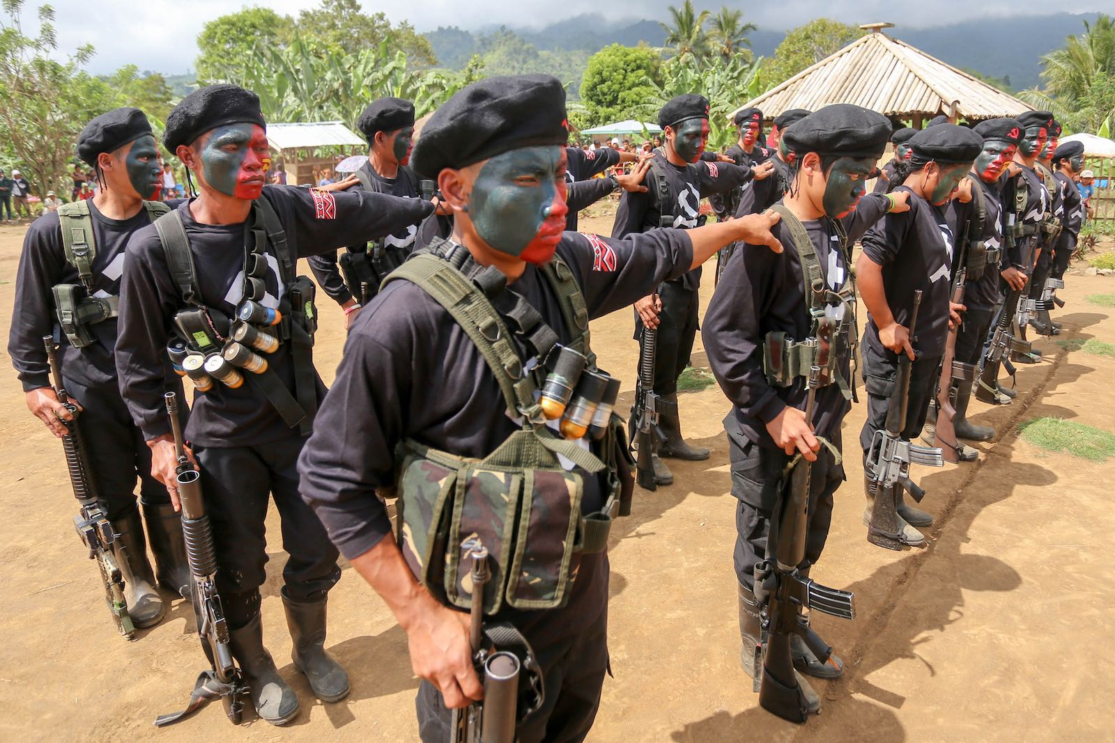 Insurgent group the New People's Army has sought to foment a communist revolution in the rural regions of the Philippines (Photo: Manman Dejeto via Getty)