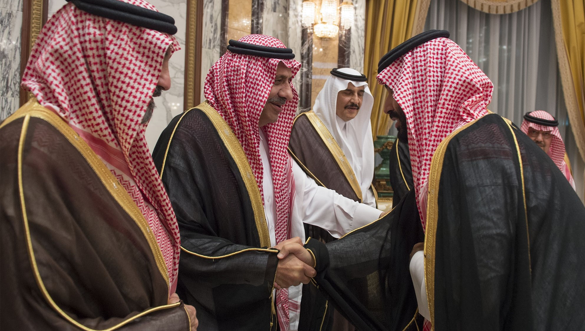 Photo: Bandar Algaloud/Saudi Royal Council
