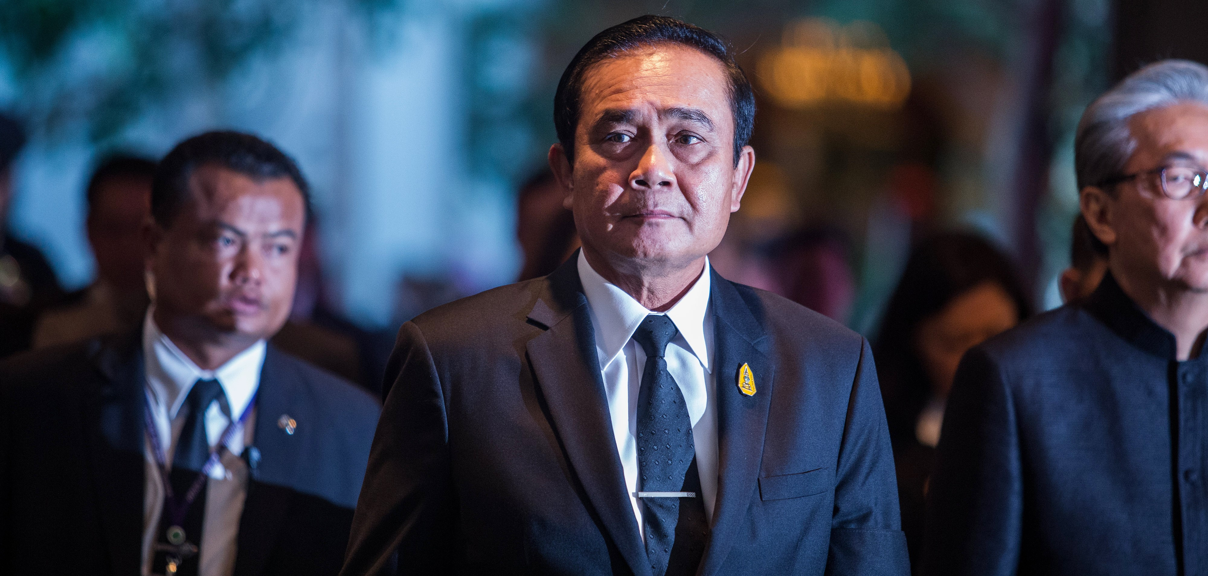 General Prayut Chan-Ocha, June 2017 (Photo: Getty Images/Bloomberg)