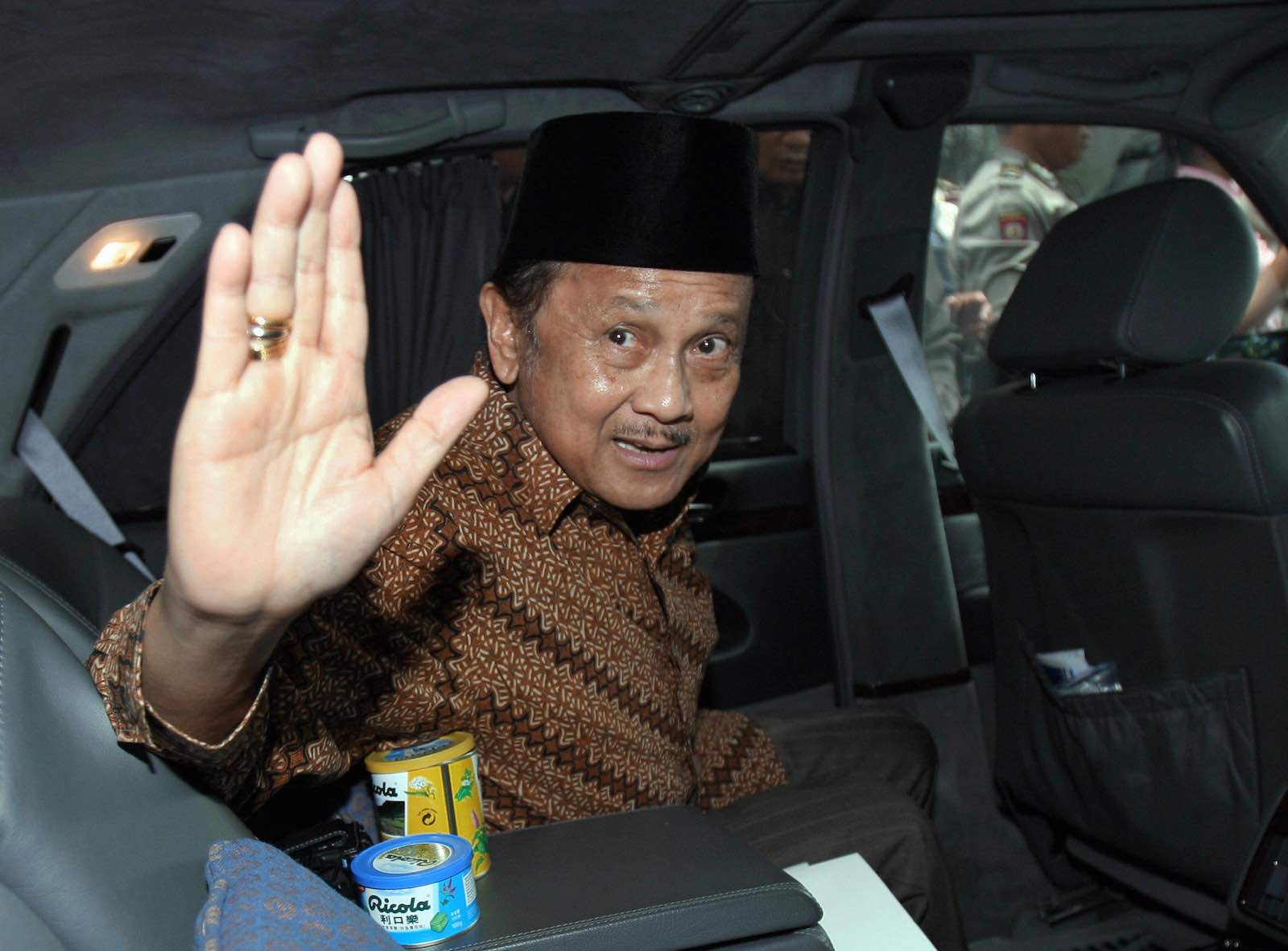 Former Indonesian President BJ Habibie in 2007 (Photo: Adek Berry via Getty)