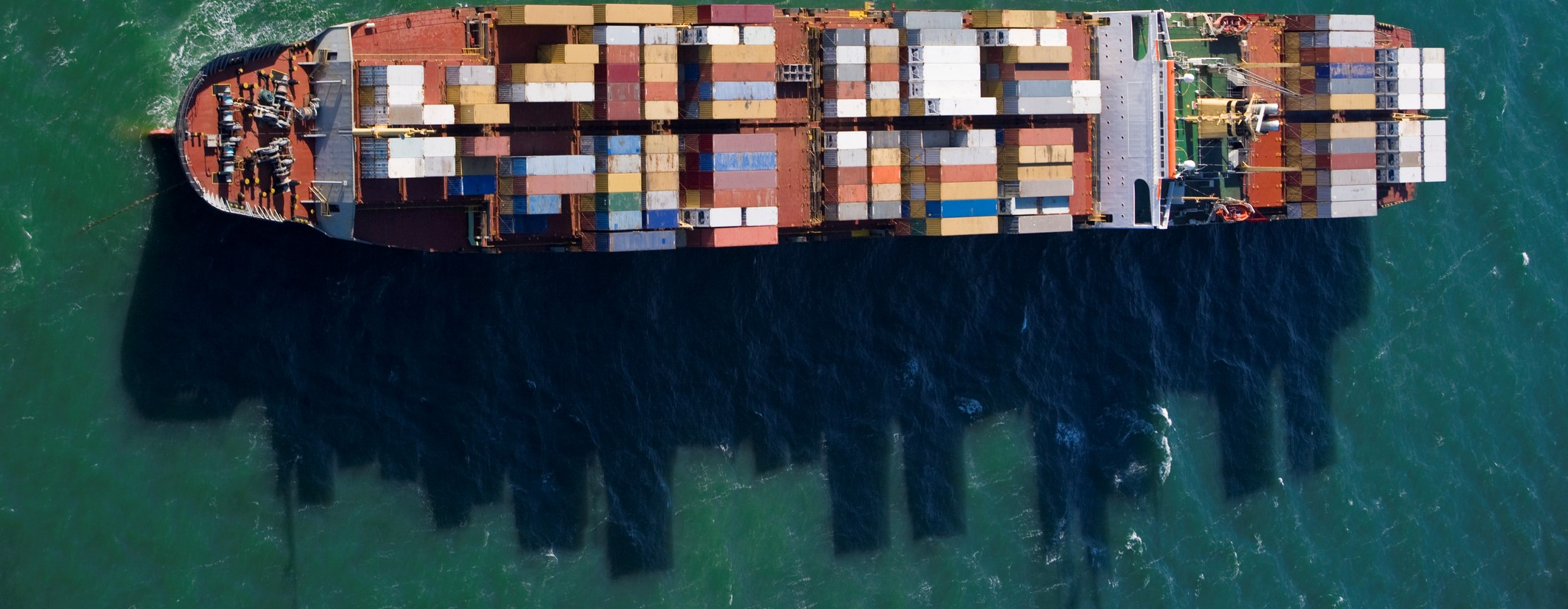 A container ship near Melbourne (Photo: James Lauritz/Getty Images)