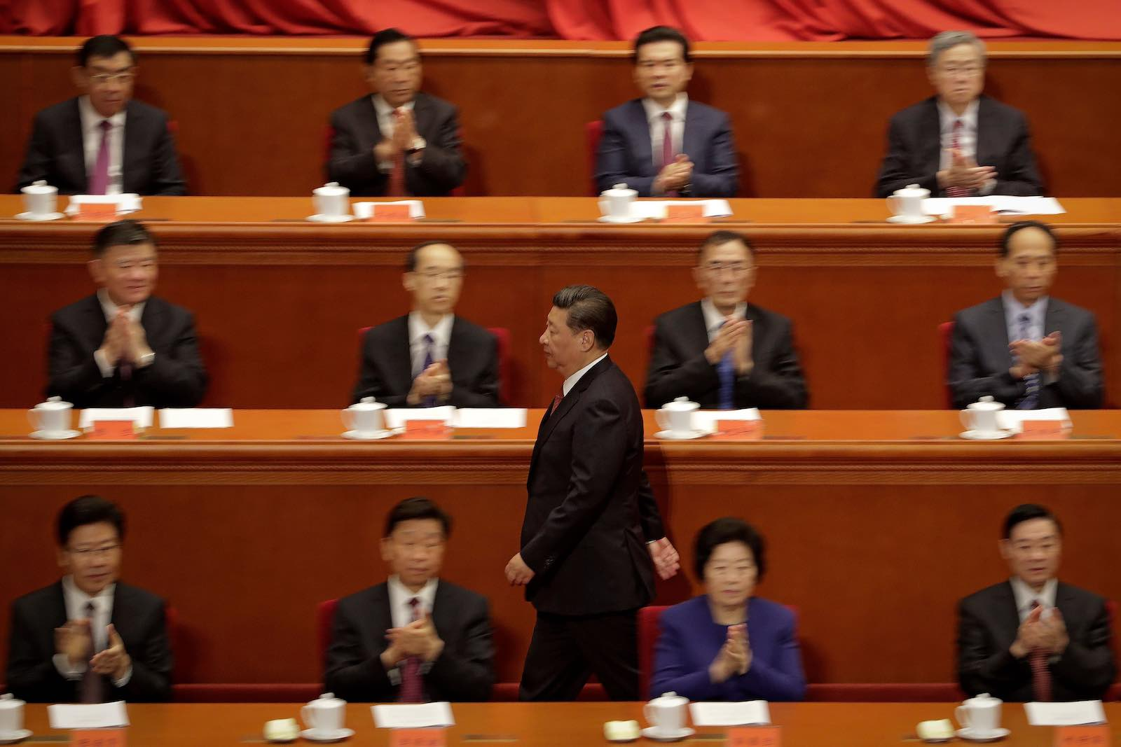 Xi's authoritarianism may be attributed to how he secured power as much as any personality trait (Photo: Andy Wong via Getty)